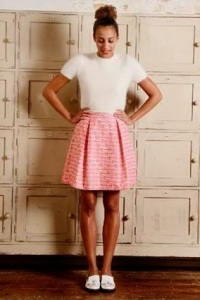 Box pleat skirt in 2014 Great British Sewing Bee Sew Your Own Wardrobe