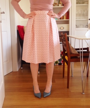 My box pleat skirt!