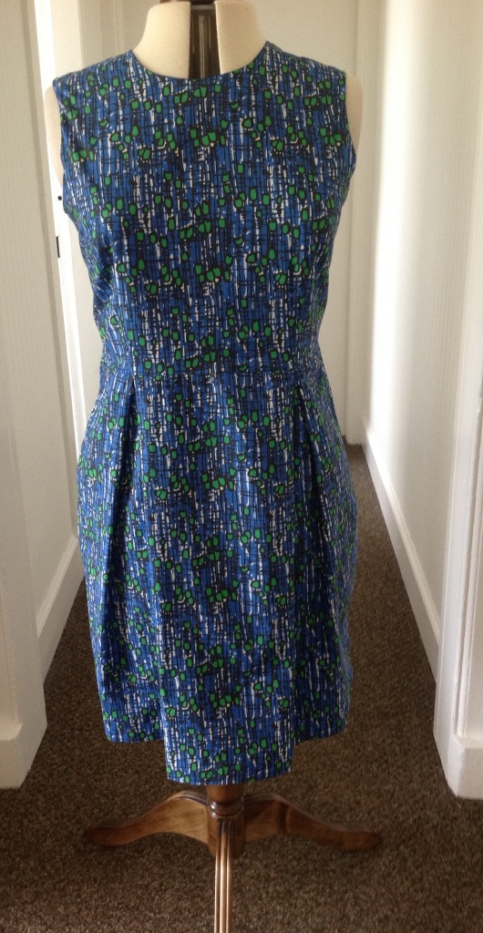 Marbella and Hepworth Dress in Hemingway fabric from Johhn Lewis Edinburgh
